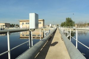 Biological treatment at Waste water treatment plant Quart Benàger